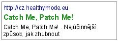 Catch Me, Patch Me!